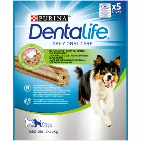 Purina Dentalife perros medianos, Snacks para perros, Higiene bucal