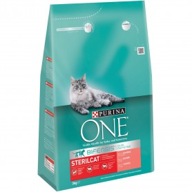 Pienso Purina One Gato Senior 11+ rico en Pollo y Cereales Integrales