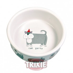 Comedero cat bowls, ceramic