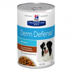 Comida húmeda Hill´s Prescription Diet  Canine Derm Defense Estofado con Pollo y Verduras