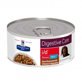 comida húmeda Hill´s Prescription Diet Canine i/d Stress Mini Estofado con sabor a Pollo y Verduras