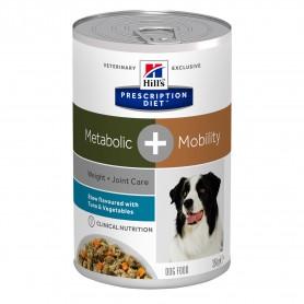 comida húmeda Hill´s Prescription Diet Canine Metabolic + Mobility Estofado con sabor a Atún y Verduras