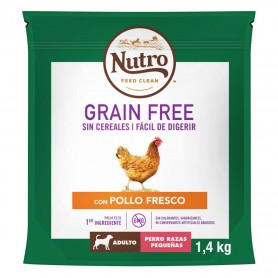 Nutro Grain Free Adulto Mini Pollo