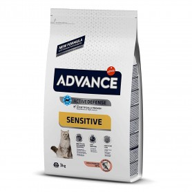 Pienso para gatos Advance Adult Salmón & Rice