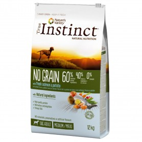True Instinct No Grain Medium/Maxi Adult Salmon