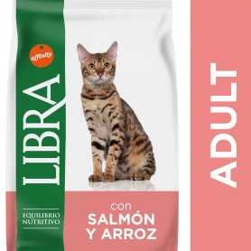Pienso Libra Adult Salmon & Rice para gatos