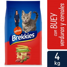 Brekkies Cat Buey, Ternera y Verdura