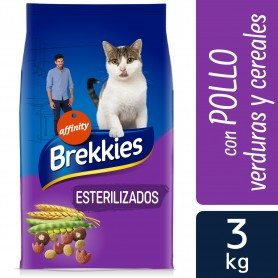 Pienso para gatos Brekkies Cat Sterilised