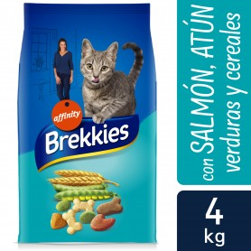 Pienso Brekkies Cat Mix Pescado