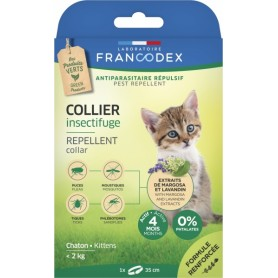 Francodex Collar Repelente Gatitos