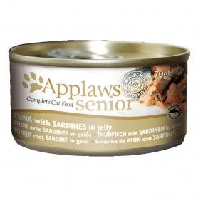 Applaws Cat Senior lata atún con sardina