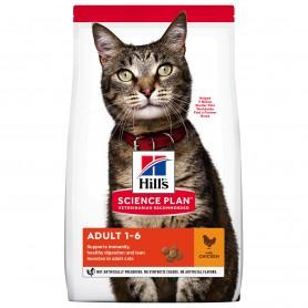 Hill's Science Plan Adult alimento seco gato sabor pollo