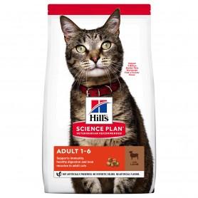 Hill's Science Plan Adult alimento gato sabor cordero y arroz