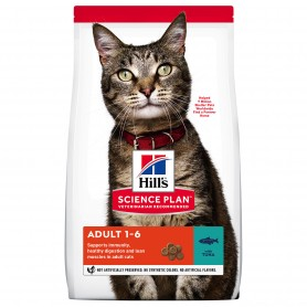 Hill's Science Plan Adult alimento seco gato sabor atún