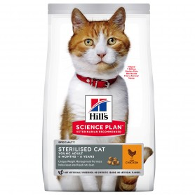 Hill's Science Plan Young Adult Sterilised Cat alimento seco gato pollo