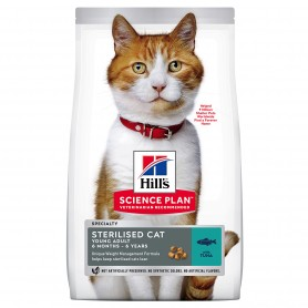 Hill's Science Plan Young Adult Sterilised Cat alimento seco gato atún