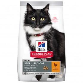 Hill's Science Plan Feline Mature Adult Sterilized Cat Pollo