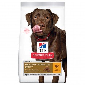 Hill's Science Plan Adult Healthy Mobility Large Breed alimento seco perro sabor pollo