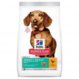Hill's Science Plan Adult Perfect Weight Small & Mini alimento seco perro pollo
