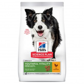 Hill's  7+  Youthful Vitality Medium Breed con Pollo y Arroz