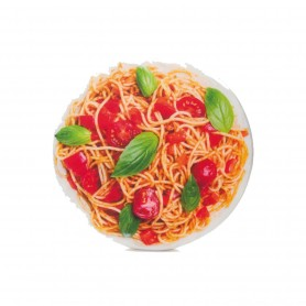 Cojín redondo Italian Spaghetti