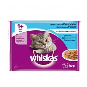 Whiskas pack selección de pescado