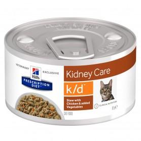Prescription Diet Feline k/d Estofado con Pollo