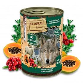 Natural Greatness Cordero con Papaya, arándanos y romero Perro (lata)