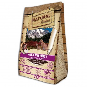 Natural Greatness Receta Wild Instinct All Breed gato