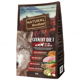 Natural Woodland country diet perro