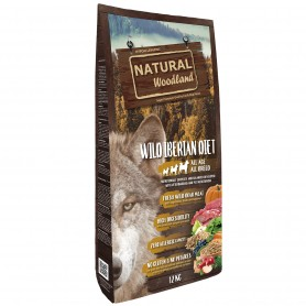 Natural Woodland wild iberian diet perro