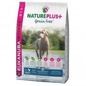 Eukanuba Natureplus + Puppy Grain Free Salmón Perro
