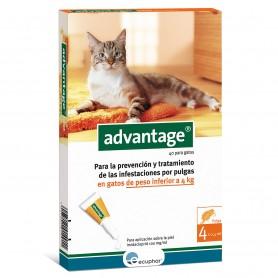 Advantage Pipeta Antiparasitaria para Gatos