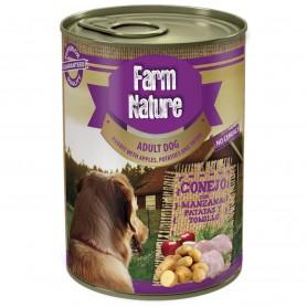 Farm Nature Conejo con patata, manzana y tomillo perro (lata)