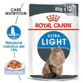 Royal Canin Ultra Light comida húmeda en gelatina para el control de peso en gato adulto