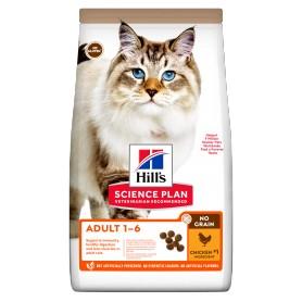 Hill's Science Plan NO GRAIN Alimento para gatos adultos pollo