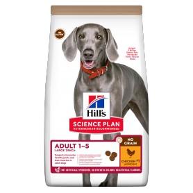 Hill's Science Plan NO GRAIN alimento para perros adultos de razas grandes con pollo