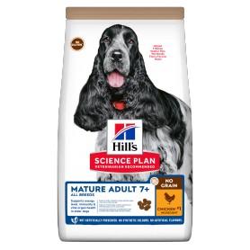 Hill's Science Plan NO GRAIN alimento para perros mayores con pollo