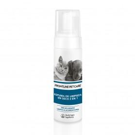 Espuma de limpieza en seco 2 en 1 Frontline Pet Care