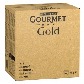 Purina Gourmet Gold Mousse Pack Surtido 96x85g