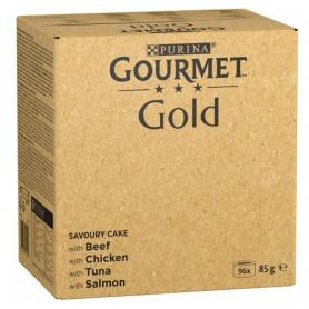 Purina Gourmet Gold Tartelette Pack Surtido 96x85g