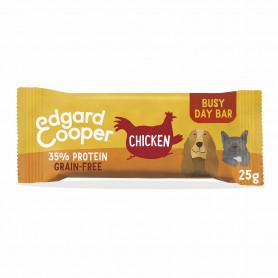 Edgard & Cooper, barritas sin cereales con pollo, arándanos y manzana