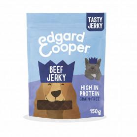 Edgard & Cooper, jerkeys sin cereales con vacuno, fresa y mango