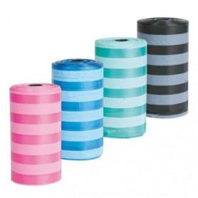 4 Rollos de 20 bolsas colores surtidos