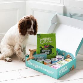 Edgard & Cooper Pack completo para perros, pienso, comida húmeda, premios y sticks dentales
