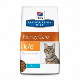 Hill's Prescription Diet k/d alimento para gatos con Atún