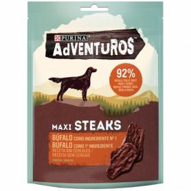 Purina Adventuros Maxi Steaks Búfalo para perro