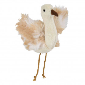 Avestruz con Catnip y sonido, Peluche, 5.5 cm