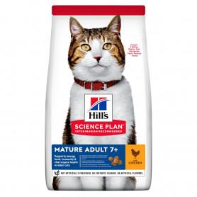 Hill's Science Plan Feline Mature Adult 7+ Active Longevity con Pollo