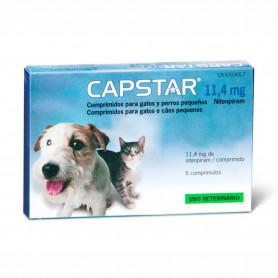 Elanco Capstar Tratamiento Antipulgas para perros y gatos